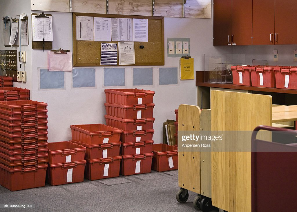 Storage room of library : Foto stock