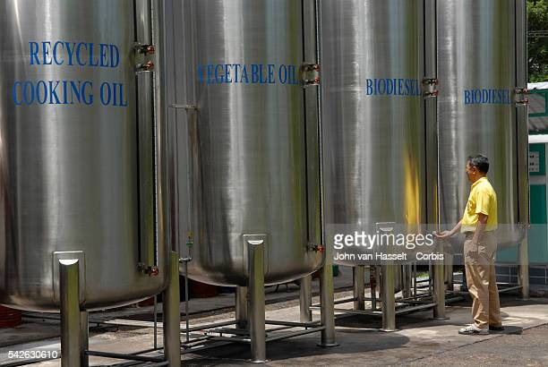 Storage tanks for recycled cooking oil vegetable oil such as palm oil and biodiesel King Bhumibol of Thailand has been a proponent of renewable...