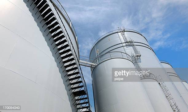 storage tanks - fuel storage tank stock photos and pictures
