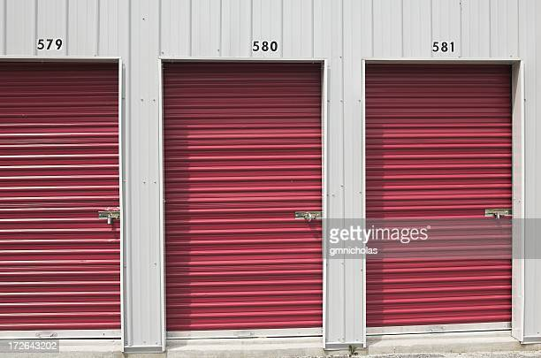 storage unit doors - self storage stock pictures, royalty-free photos & images