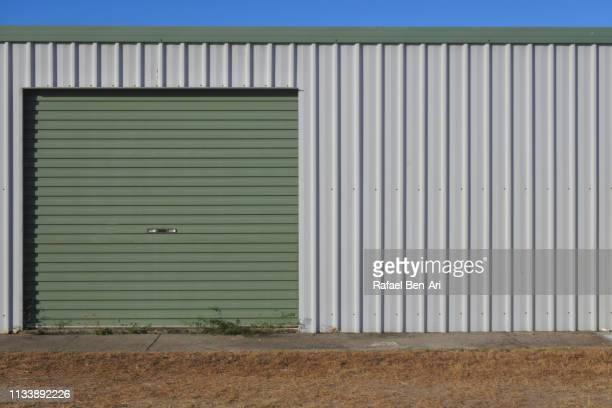 storage unit facade - rafael ben ari bildbanksfoton och bilder