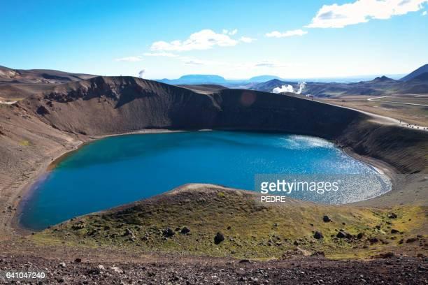 Stora-Viti Crater, Krafla, Iceland