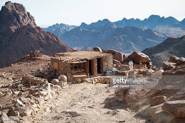 store and cafe on mount sinai - mt sinai stock pictures, royalty-free photos & images