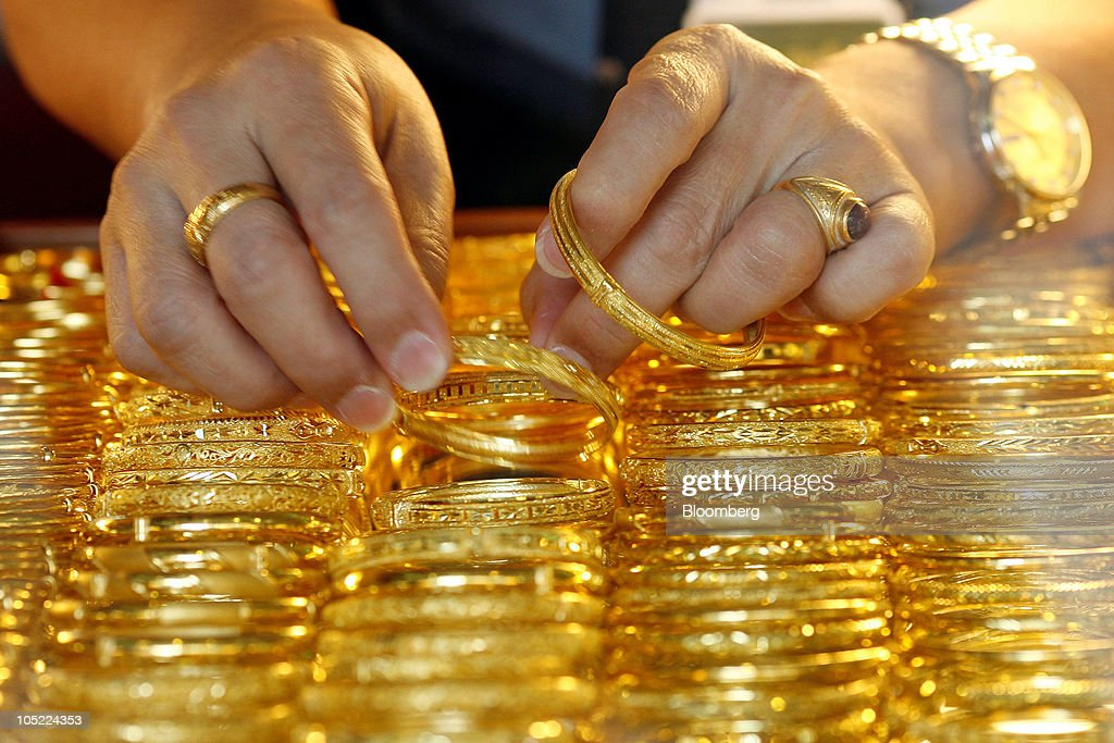 Gold Products At Chin Hua Heng Goldsmith Photos and Images Getty