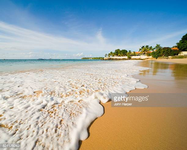 store bay, crown point, tobago - trinidad and tobago stock pictures, royalty-free photos & images