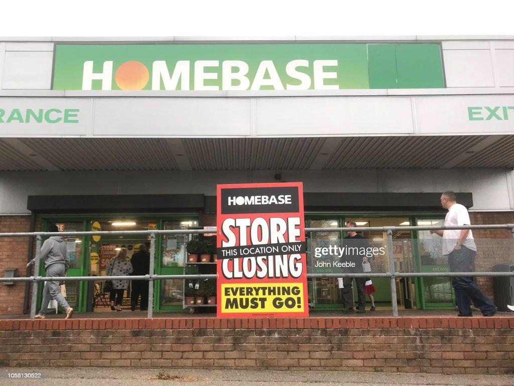 Homebase Closures : News Photo