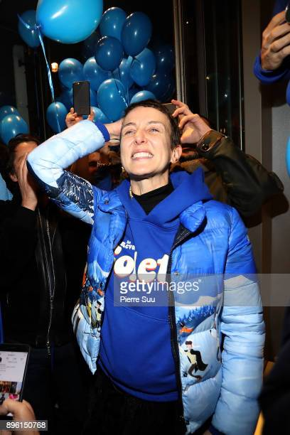 Store director Sarah Andelman is seen minutes before the famous store closes its doors premanently at Colette on December 20 2017 in Paris France