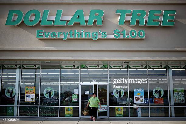 A store employee exits a Dollar Tree Inc store in Shelbyville Kentucky US on Friday May 15 2015 Dollar Tree is expected to release firstquarter...