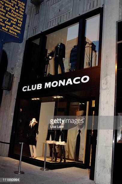 Store Front 1503 Walnut Street during Club Monaco opens in Philadelphia September 20 2006 at Club Monaco in Philadelphia Pennsylvania United States
