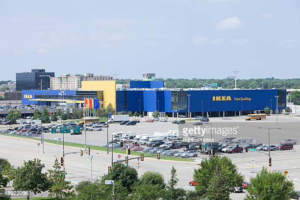 ikea store in bloomington, minnesota - mall of america stock pictures, royalty-free photos & images