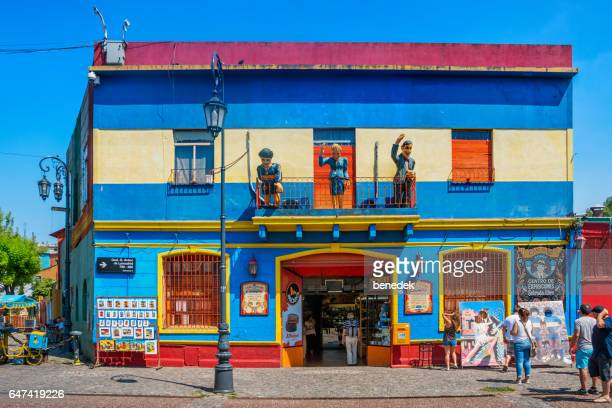 Store in La Boca neighborhood of Buenos Aires Argentina.