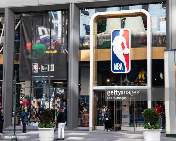 NBA store in New York City