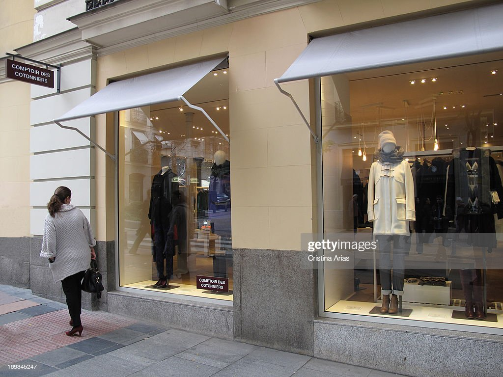 Store In The Salamanca District Of Madrid Of The French Fashion Firm News Photo Getty Images