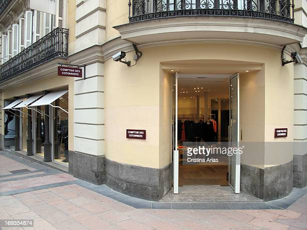Store in the Salamanca district of Madrid of the French fashion firm Comptoir des Cotonniers Spain November 2012