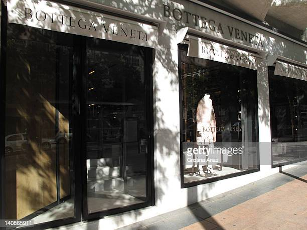 Store of Bottega Veneta in the Madrid's Gold Mile is a company/signature of clothes leather articles and complements of luxury that it has to Gucci...
