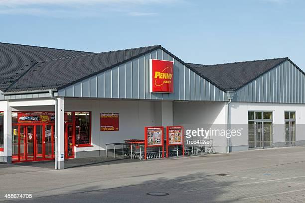 Filiale der Supermarktkette Penny Markt Ermäßigung