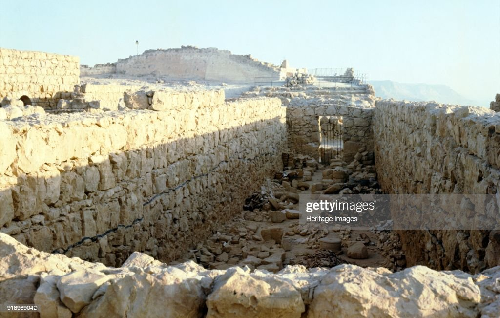 Store Rooms Of Herods Palace, : News Photo