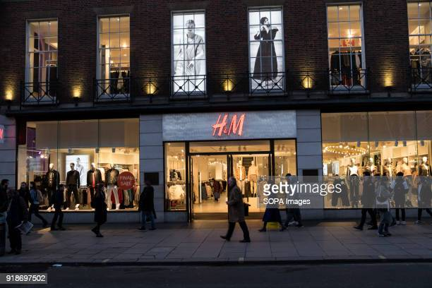 M store seen in London famous Oxford street Central London is one of the most attractive tourist attraction for individuals whose willing to shop and...