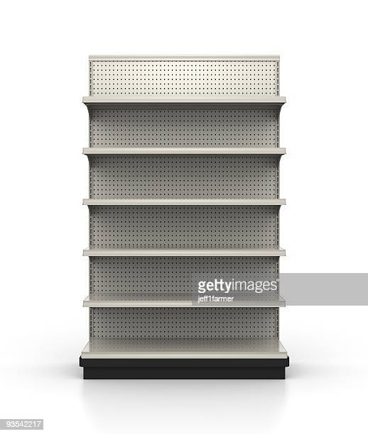 store shelves - retail environment - sparse stock pictures, royalty-free photos & images