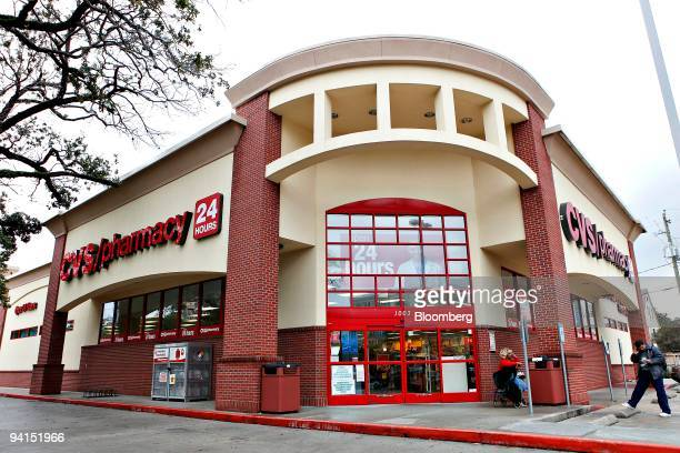 A CVS store stands in Houston Texas on Tuesday Dec 8 2009 A Texas pension fund will decide this week whether to award CVS Caremark Corp a new...