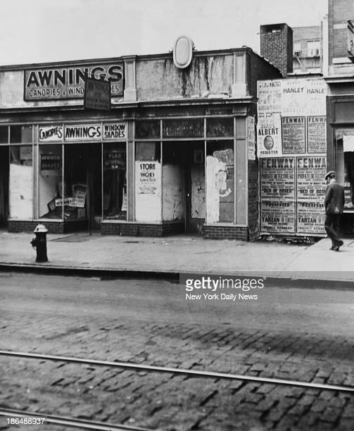 Store where Anthony Marino speakeasy on Third Ave near Crotona Park in the Bronx