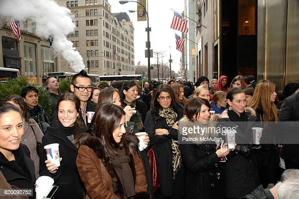 Storefront Atmosphere attends DONALD TRUMP Joins GUCCI for Ribbon Cutting of the FIFTH AVENUE FLAGSHIP GUCCI STORE at Gucci on February 8 2008 in New...
