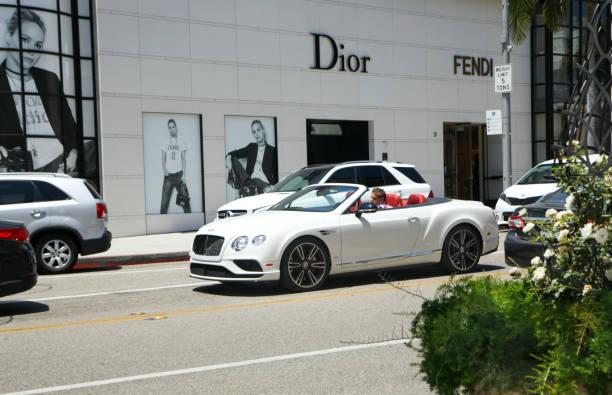 LOS ANGELES, USA - July 2, 2017: Storefront Dior at Rodeo Drive.