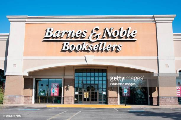 Storefront for Barnes & Noble Booksellers.