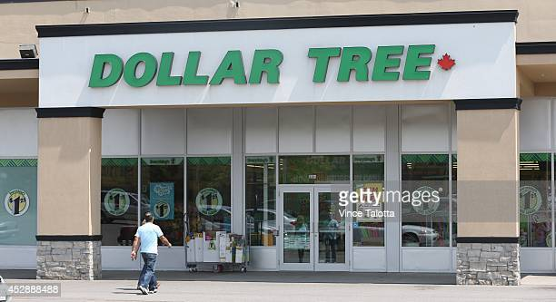 Storefront shot of Dollar Tree in Rexdale who is buying rival discount store Family Dollar in a cashandstock deal valued at about $85 billion July 28...
