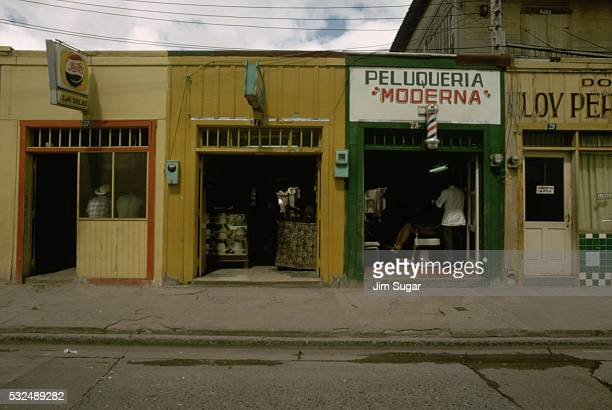 Storefronts in Mexican Town