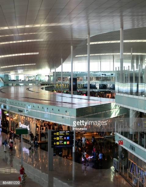 Stores at Barcelona-El Prat Airport, Catalonia, Spain