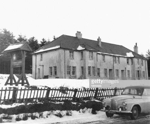Storey Arms Cafe Brecon Beacons Brecon a market town and community in Powys Mid Wales 13th January 1959