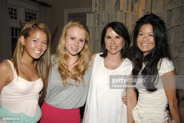 Storey Schifter, Anna McEnroe, Patty Smyth and Helen Lee Schifter attend Lee Daniels Film PRECIOUS after Screening Dinner Hosted by Marcia and...