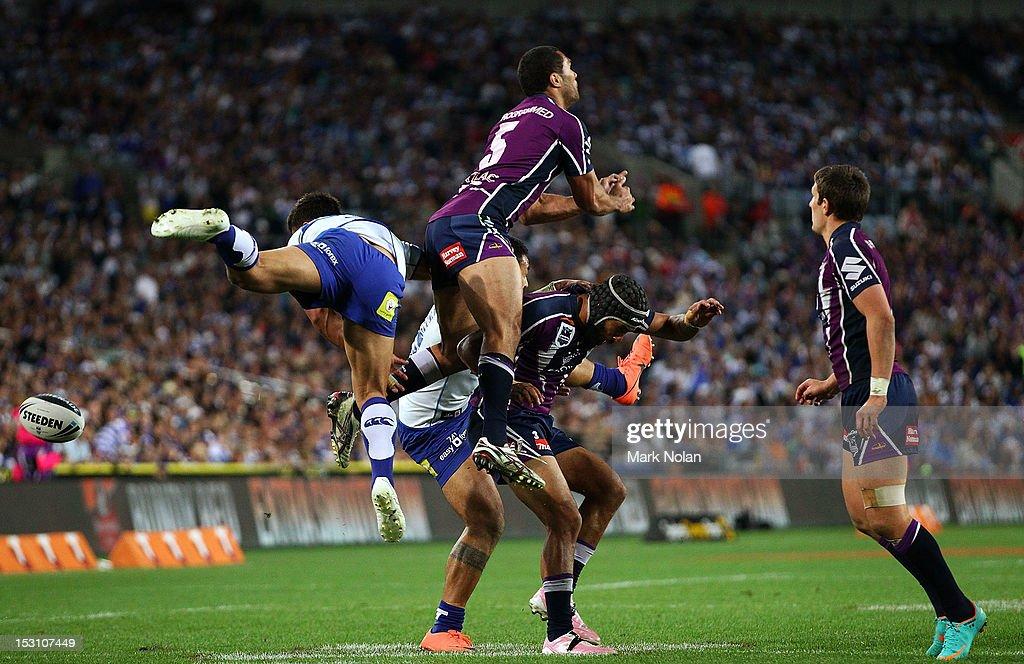 2012 NRL Grand Final - Storm v Bulldogs : News Photo