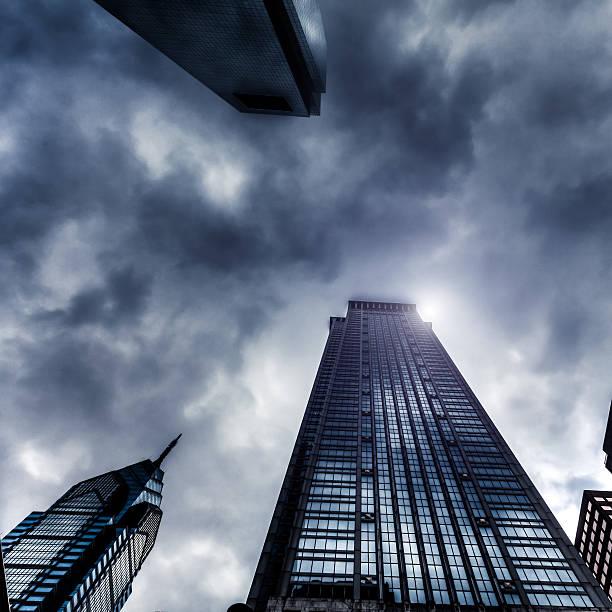 Storm and Skyscrapers, Philadelphia, USA