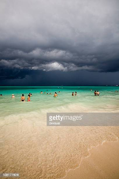 Storm Approaching in Playa del Carmen Mexico