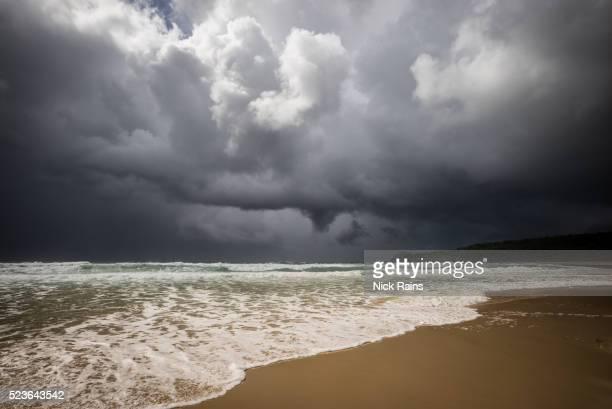storm at Alexandria Beach, Noosa National Park