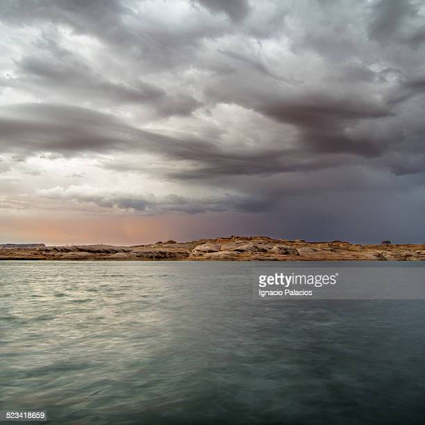 Storm at Lake Powell near Page, Arizona