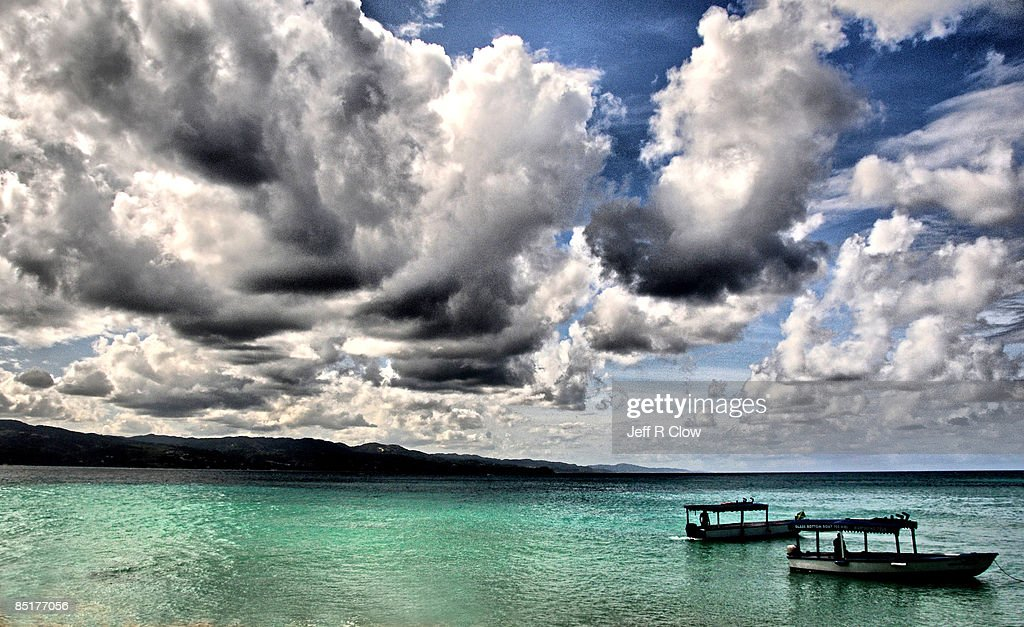 Storm Clouds at Montego Bay : Stock Photo