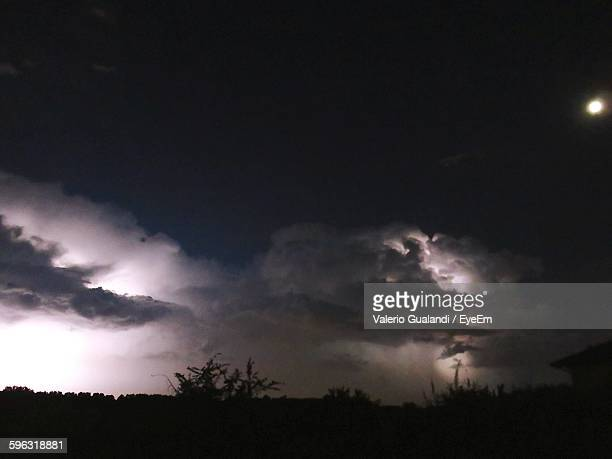 Storm Clouds At Night