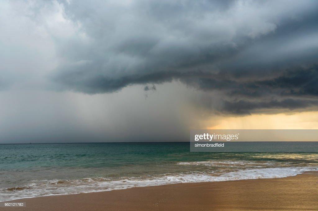 Storm Clouds Of Sri Lanka : Stock Photo