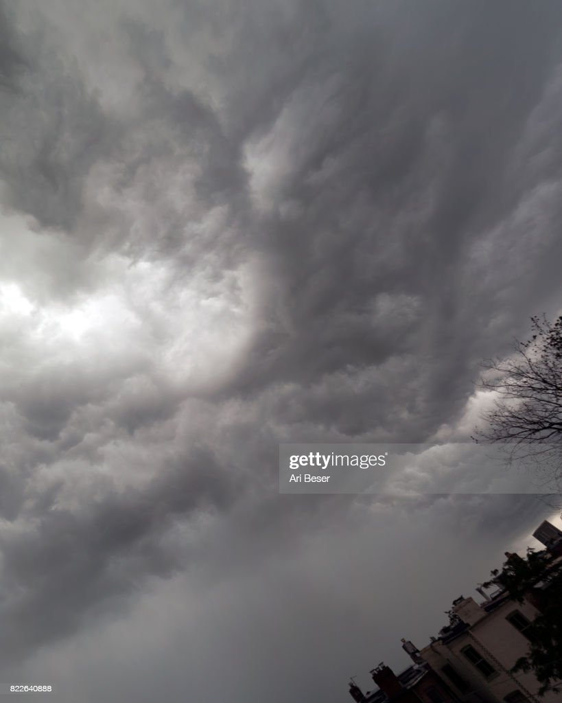 Storm Clouds Over DC : Stock Photo