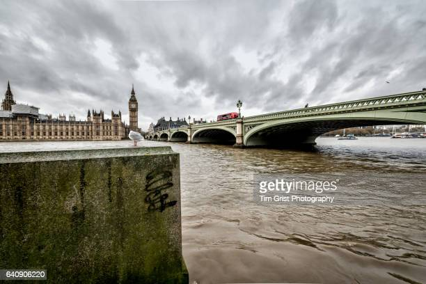 Storm Clouds over Houses of Parliament, London
