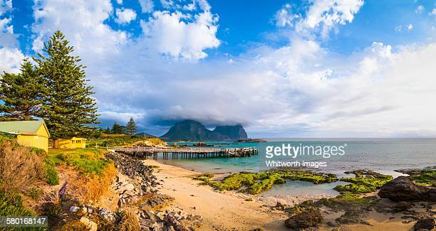 Storm clouds over Lord Howe Island Lagoon
