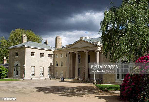 CONTENT] Storm clouds over the historic property of Kenwood House The House is owned by English Heritage