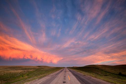 Storm Clouds Over The Prairies Saskatchewan 587216512