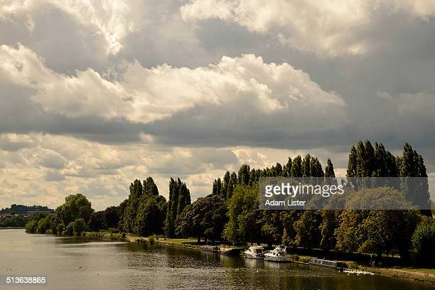 Storm Clouds over the Thames
