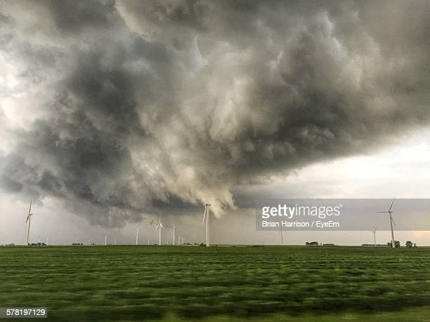 Storm Clouds Over Windmill Farm