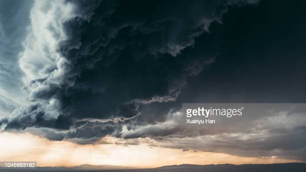 storm clouds - moody sky stock pictures, royalty-free photos & images