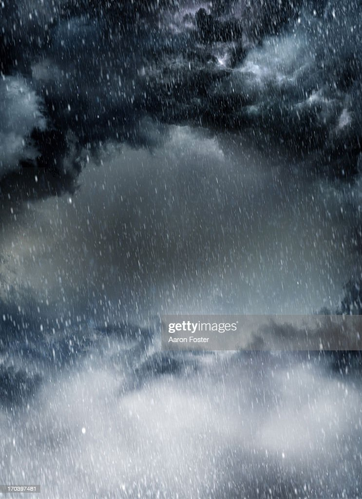 Storm clouds : Stock Photo